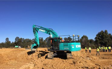 Kobelco and Trimble announce Trimble Ready option for select Kobelco excavator models