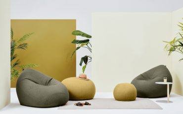 Kyoto Bean Bags - 'indoor X Out' Collection - Sage and Honey