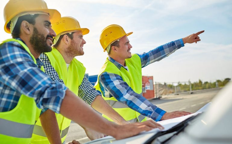 construction stock image