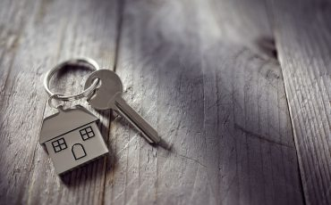 home keys stock image