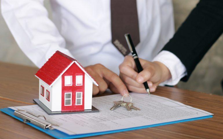 home loan stock image