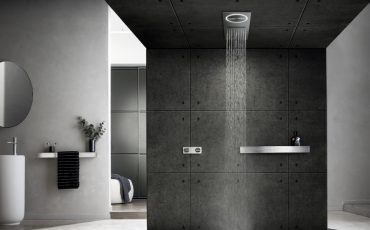 Unify your shower experience with water, light and steam extraction