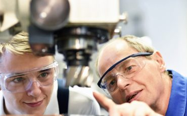 apprentice vocational training stock image