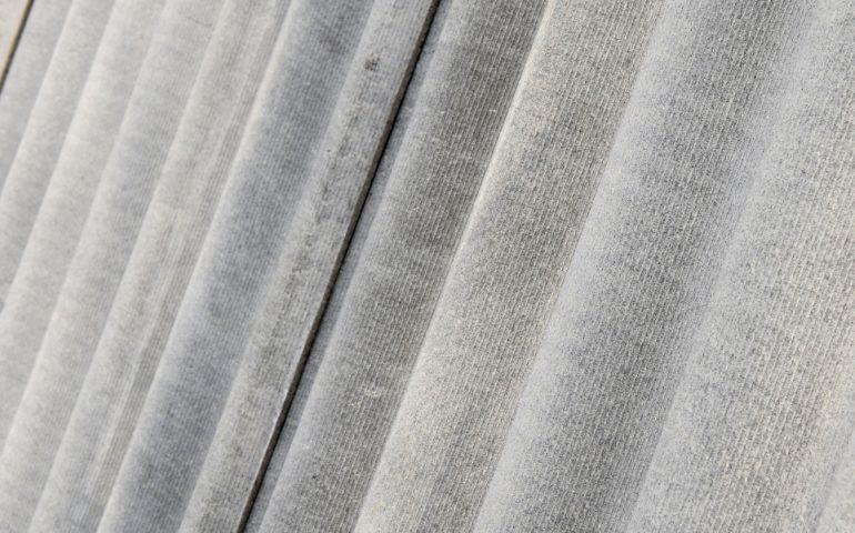 asbestos stock image