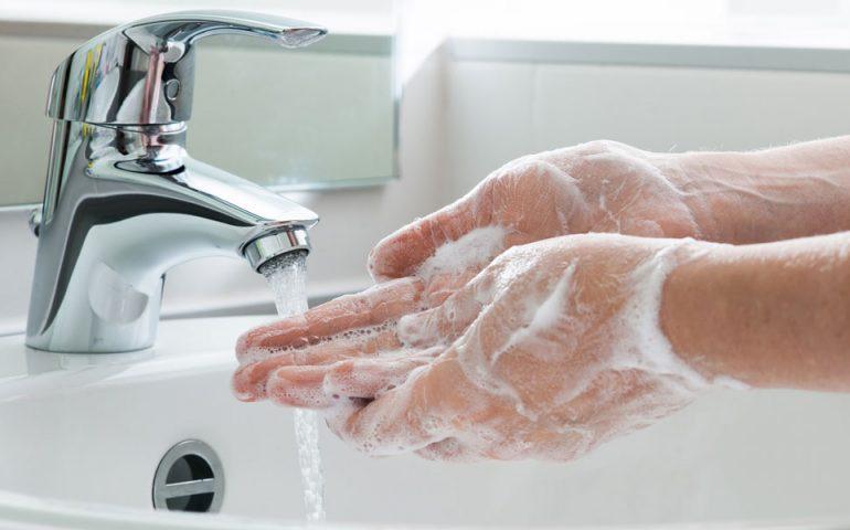 washing-hands stock image