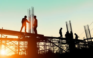 property infrastructure stock image
