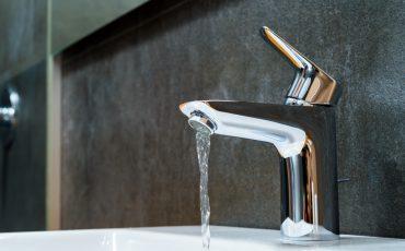 tap water running stock image