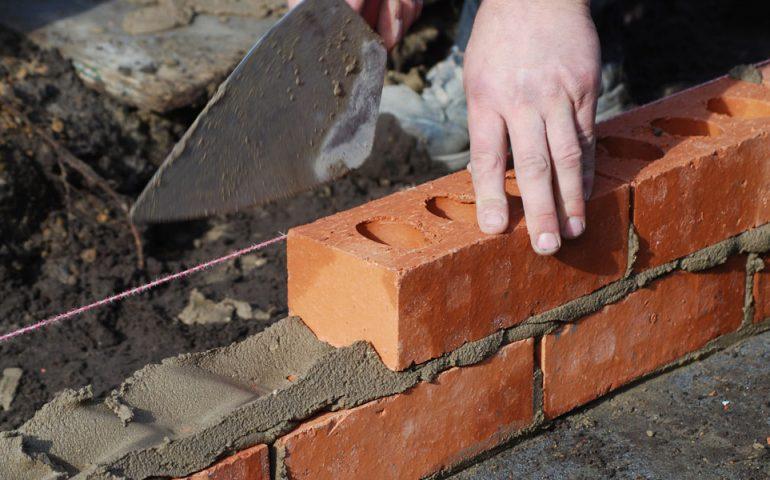 Bricking stock image