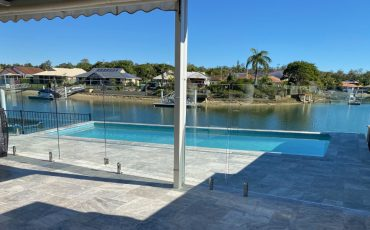 Tepequar drive Maroochy waters project by Oceans Fencing